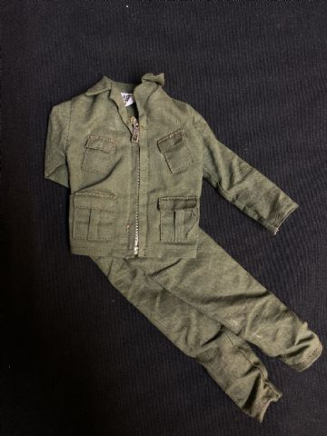 VINTAGE ACTION MAN  - COMMANDO JACKET AND TROUSERS